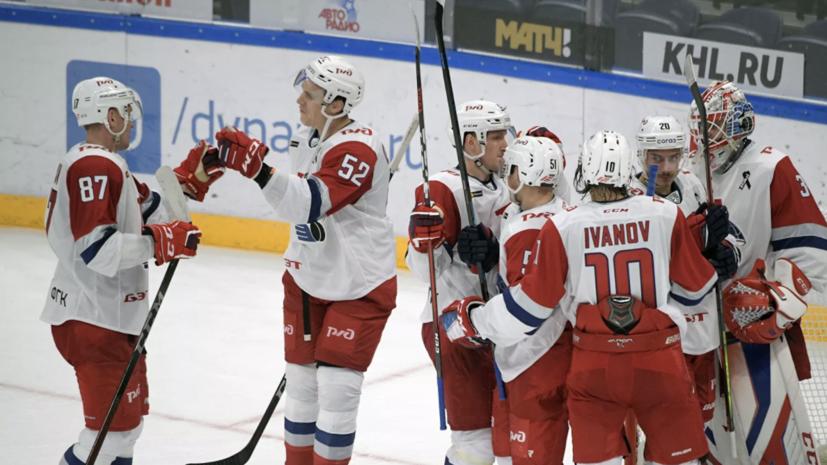 «Локомотив» отыгрался с 0:2 и одержал победу над московским «Динамо» в КХЛ