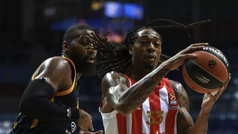 «Химки» одержали первую победу в сезоне баскетбольной Евролиги