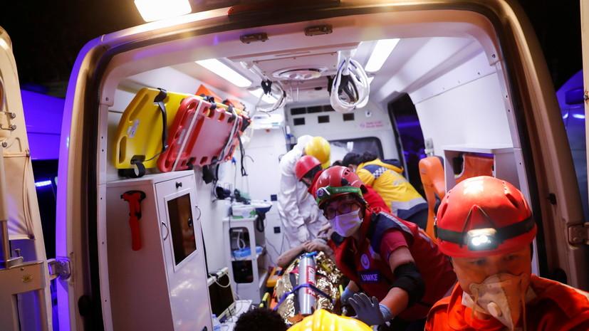 Число пострадавших в результате землетрясения в Турции превысило 760