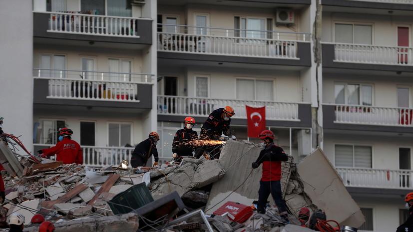 Число пострадавших в результате землетрясения в Турции превысило 800