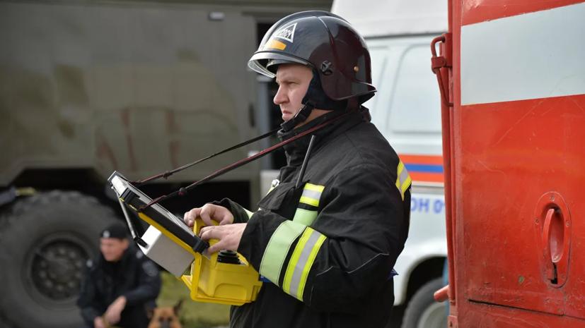 В Челябинске произошёл крупный пожар на территории поликлиники