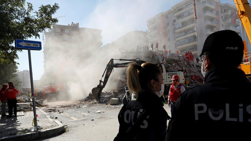 Число пострадавших при землетрясении в Турции возросло до 883