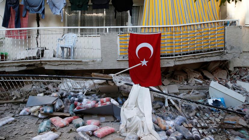 Число погибших в результате землетрясения в Измире увеличилось до 35