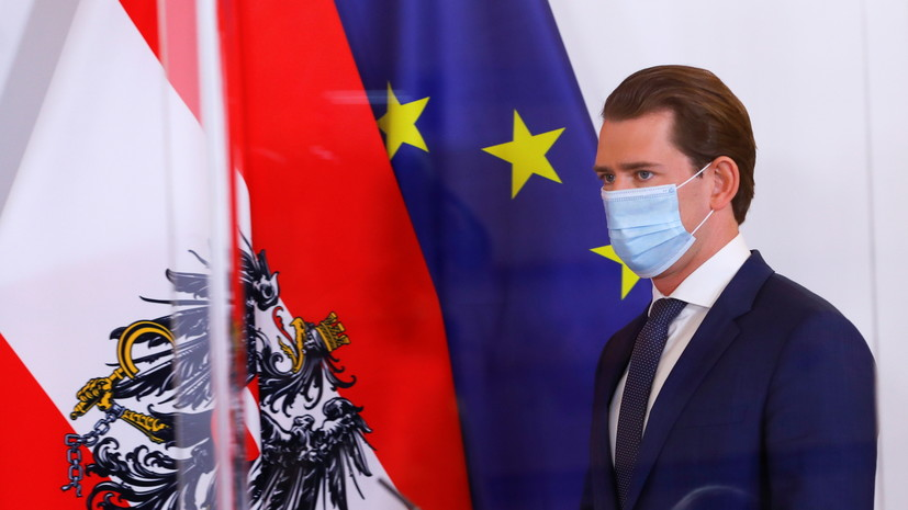 В Австрии вводят второй локдаун из-за коронавируса