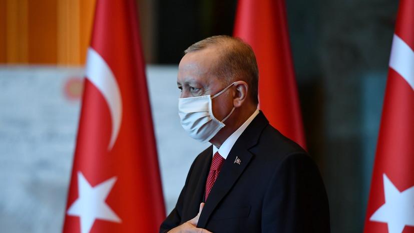 Эрдоган сообщил о 37 погибших при землетрясении в Турции