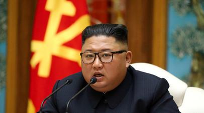 Ким Чен Ын пожелал Трампу и его жене скорейшего выздоровления