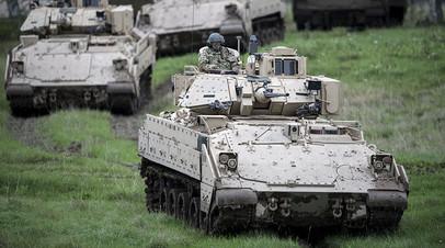 Шведские и американские военные ведут подготовку к учениям Aurora-17