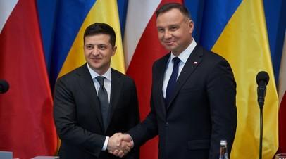 Владимир Зеленский и Анджей Дуда