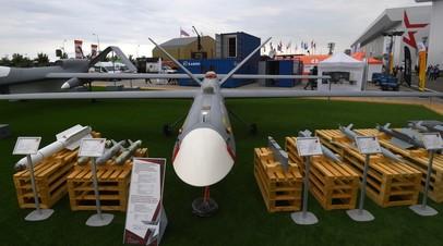 Комплекс воздушной разведки с БПЛА большой продолжительности полета с возможностью выполнения разведывательно-ударных задач «Орион»
