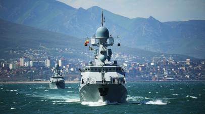 «Важный плацдарм»: какие задачи выполняет Каспийская флотилия в ходе учений