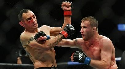 Бойцы UFC Тони Фергюсон и Джастин Гэтжи