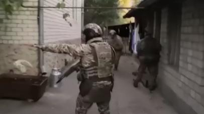 Спецоперация по ликвидации экстремистских ячеек в Дагестане и Карачаево-Черкесии — видео