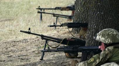 В Киеве сообщили о гибели двух украинских военных в Донбассе