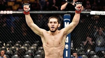 Российский боец UFC Ислам Махачев