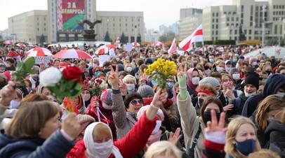 Акции протеста в Белоруссии