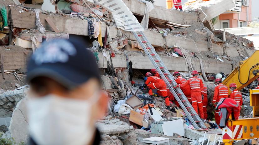 Число погибших в результате землетрясения в Турции достигло 58