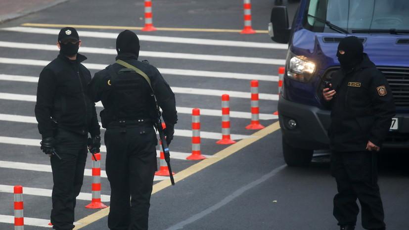 Минская милиция задержала несколько человек на акциях протеста