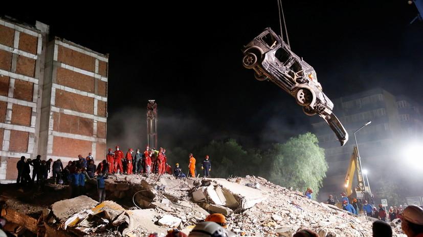 Число жертв в результате землетрясения в Турции увеличилось до 69