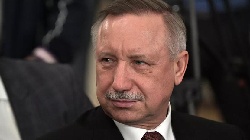 Беглов заявил о «критическом» числе заболевших COVID-19 в Петербурге