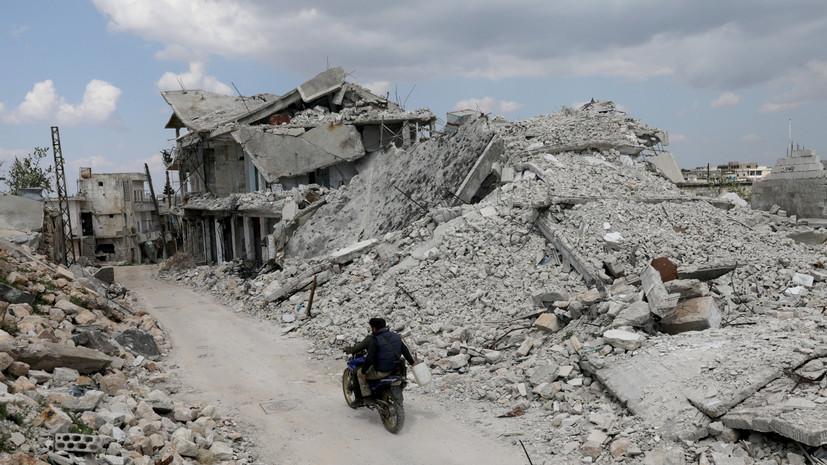 В ЦПВС заявили о подготовке боевиками провокации с БПЛА в Сирии