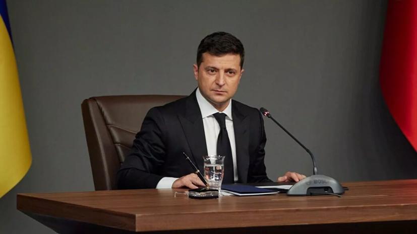 Зеленский обсудил с главой Венецианской комиссии ситуацию вокруг КС