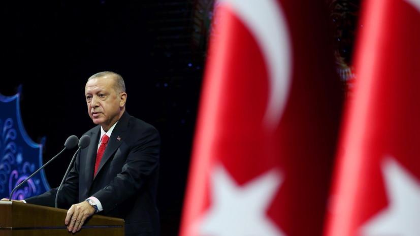 Эрдоган заявил о более чем тысяче пострадавших при землетрясении в Турции