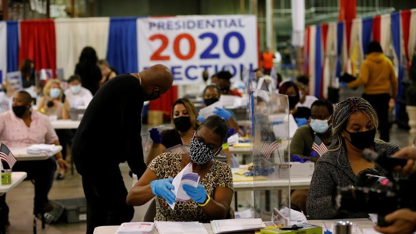 Байден опережает Трампа во Флориде после подсчёта 57% голосов