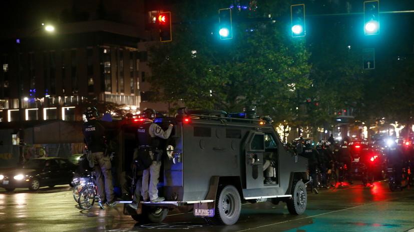 Полиция Сиэтла сообщила о задержании восьми человек