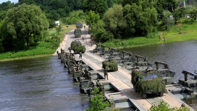 «Стремление усилить напряжённость»: как НАТО наращивает активность у российских границ