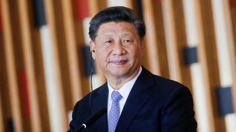 Си Цзиньпин рассказал о помощи другим странам в борьбе с коронавирусом