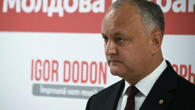 """Додон: Молдавия не станет """"пушечным мясом НАТО"""" в борьбе против России"""