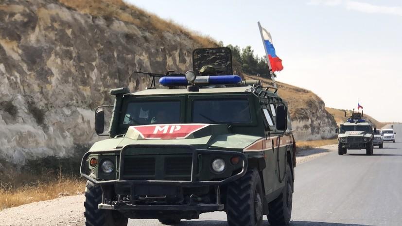 Российские военные выдали гуманитарную помощь в сирийском Алеппо