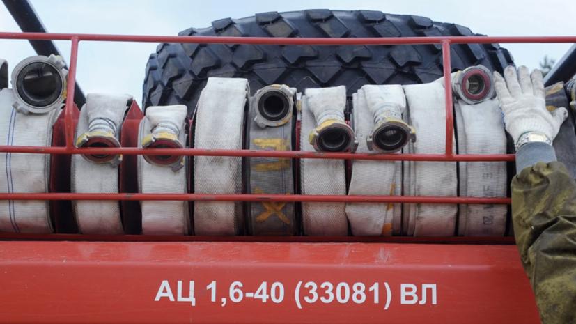 Пожарные потушили возгорание в частных домах в Свердловской области