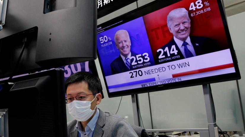 В Кремле прокомментировали процесс подведения итогов выборов в США — РТ на русском