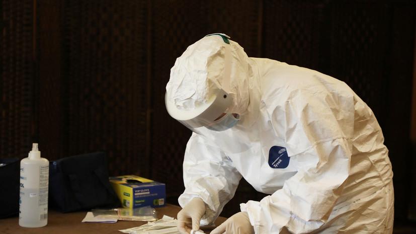 Общее число случаев коронавируса в Ливане достигло 91 328