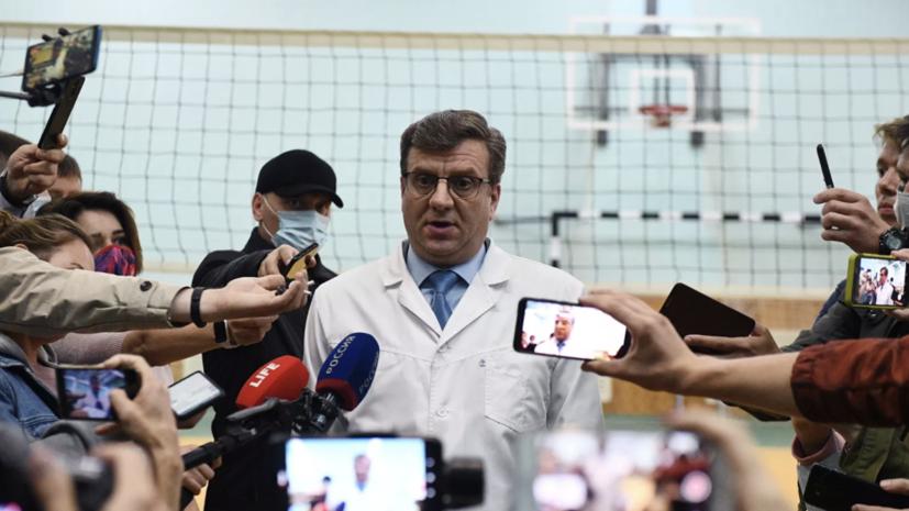 Экс-главврач лечившей Навального БСМП стал главой омского Минздрава