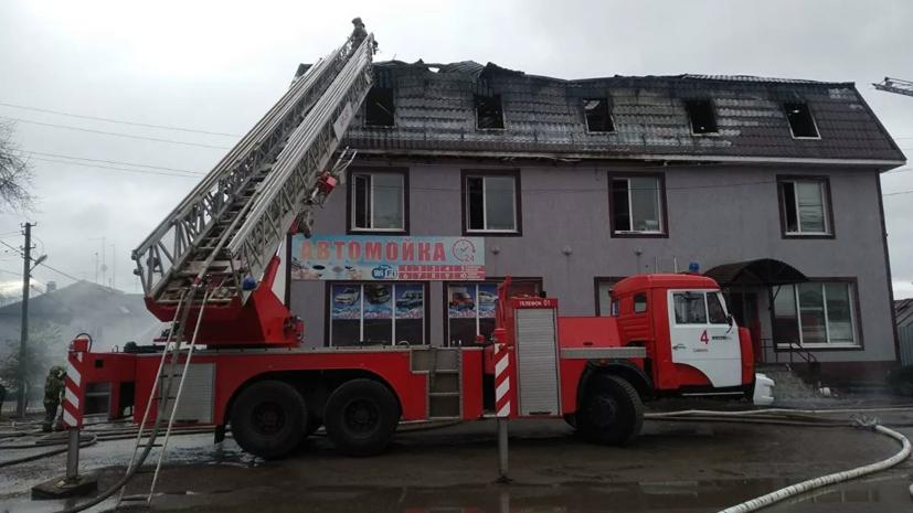 Четверо погибших найдены на месте пожара в Самаре
