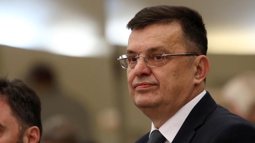 Премьер Боснии и Герцеговины заболел коронавирусом