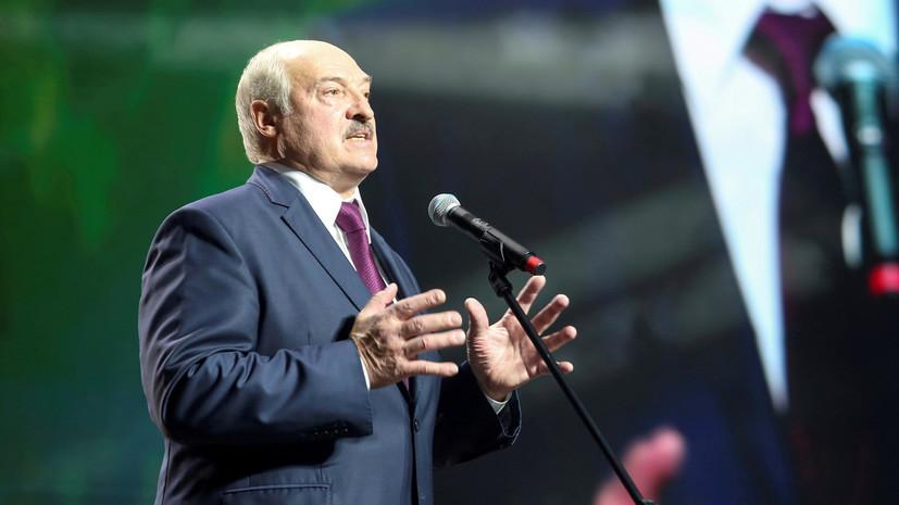 Лукашенко рассказал о своём отношении к санкциям ЕС