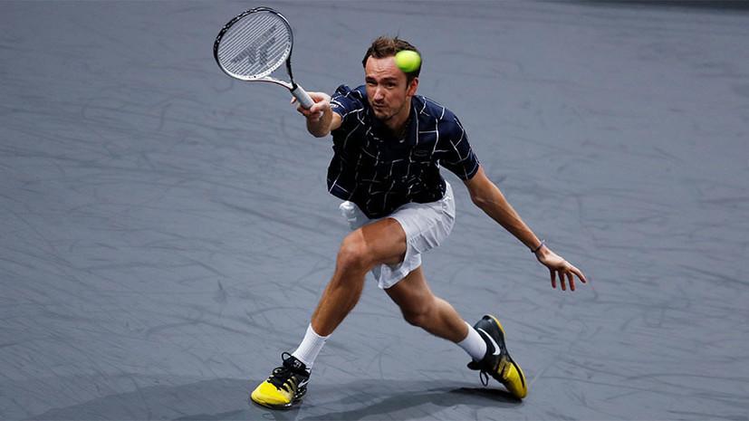 Лучший результат в сезоне и четвёртое место в рейтинге: Медведев вышел в финал «Мастерса» в Париже
