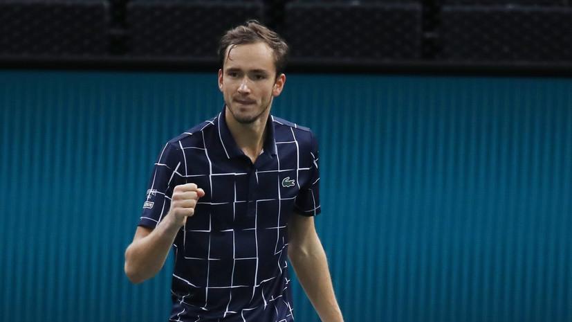Чесноков: такой Медведев может далеко пройти на Итоговом турнире ATP