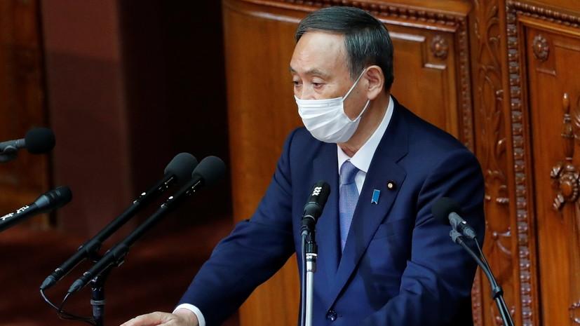 Премьер Японии поздравил Байдена с победой на выборах