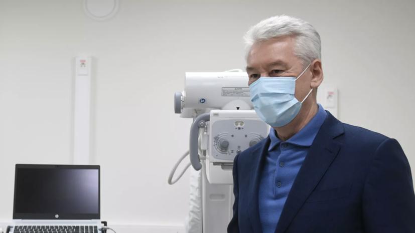 Собянин оценил ущерб бюджету Москвы от пандемии коронавируса
