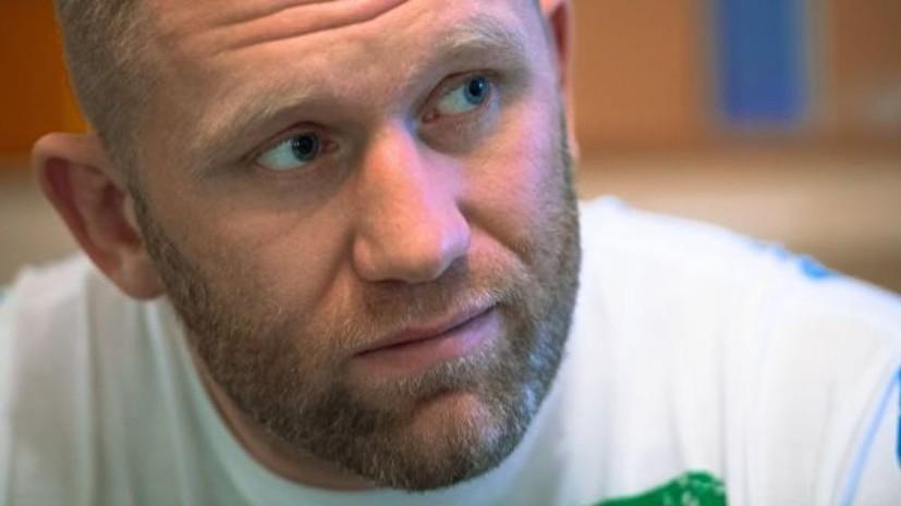 Опубликовано видео нокаута Харитонова в бою с Томпсоном