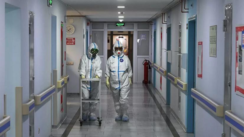 В Москве за сутки зафиксировали 5751 случай коронавируса