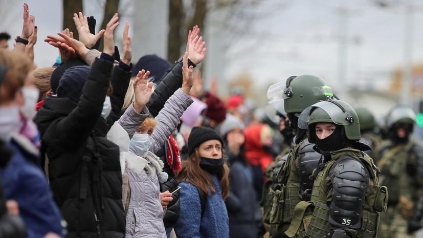 В Минске закрыли девять станций метро перед акцией оппозиции