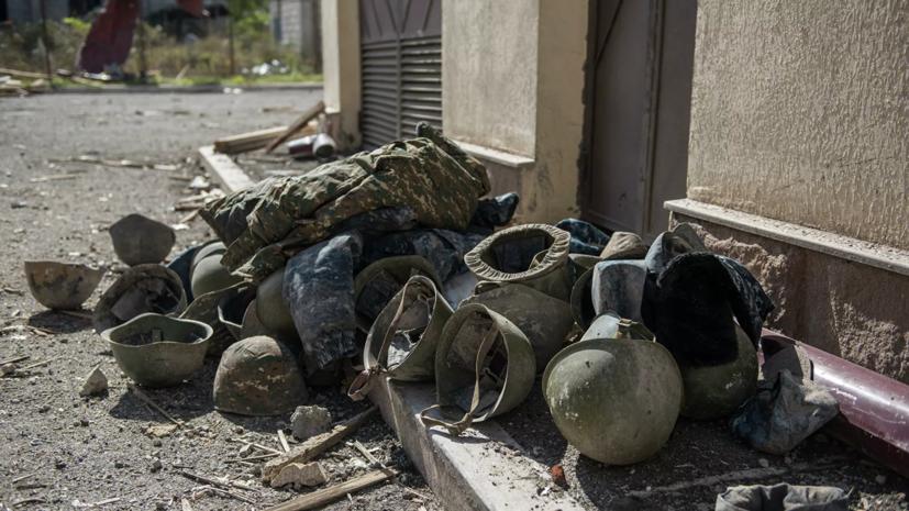 В Армении заявили о продолжении боевых действий в городе Шуши