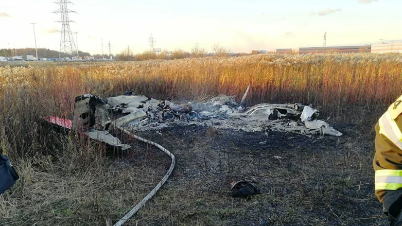 СК назвал основные версии крушения самолёта с Колтовым