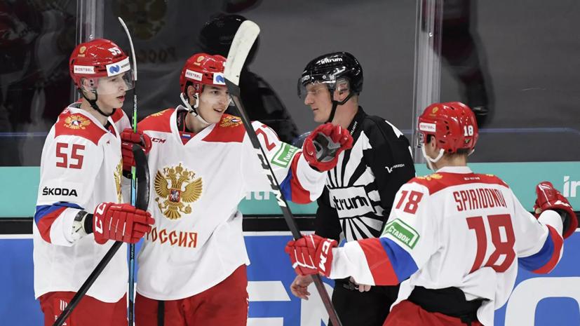 Сборная России победила команду Чехии и выиграла Кубок Карьяла