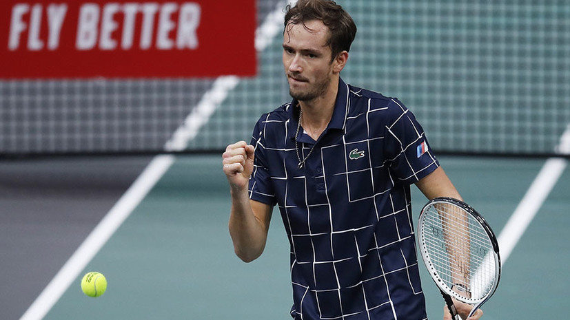 Первый триумф в сезоне: Медведев одержал волевую победу над Зверевым в финале «Мастерса» в Париже